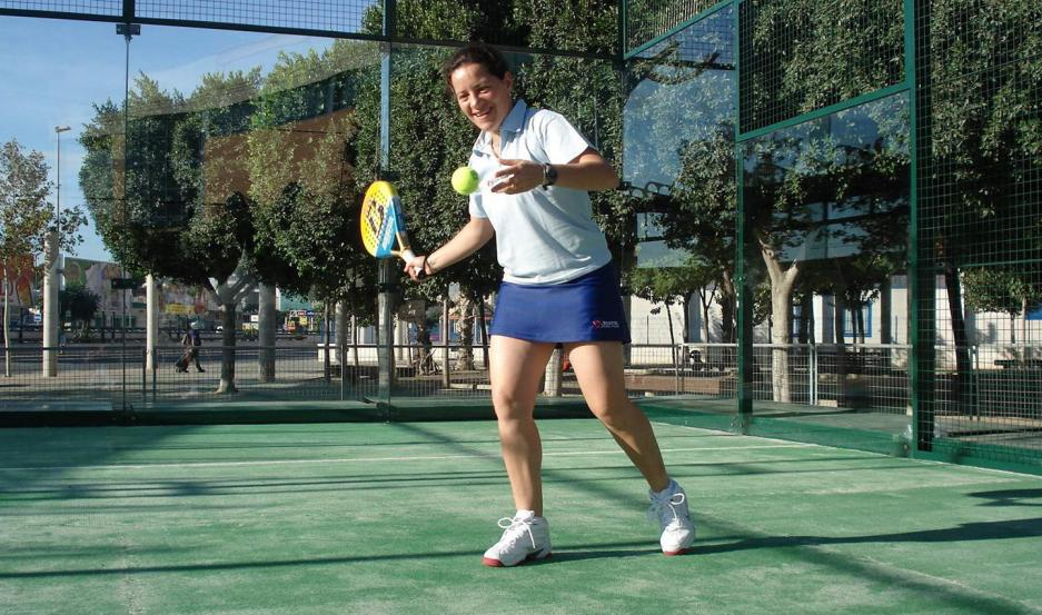 ORGULLO. Claudia Céspedes fue una de las grandes deportistas de Santiago que llevó a la provincia a lo más alto en el contexto mundial.