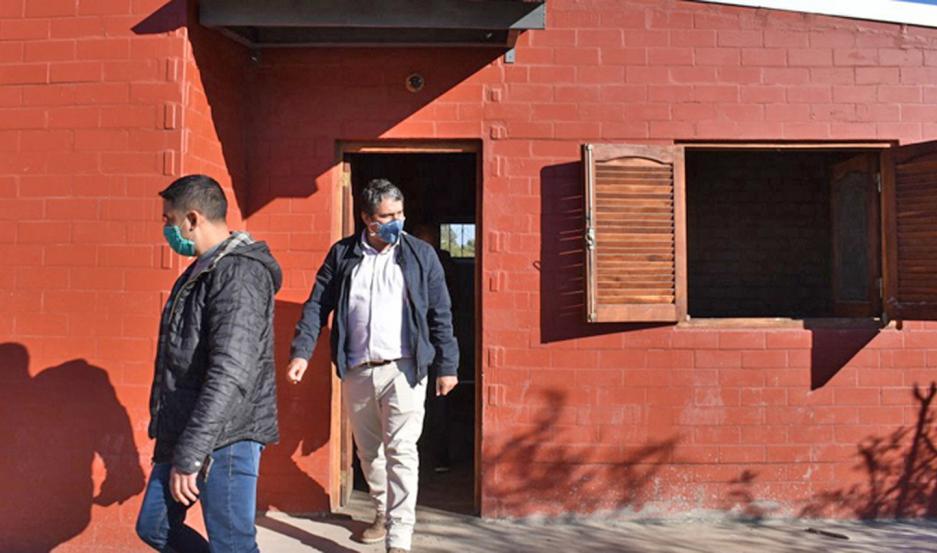 La entrega de las viviendas sociales en la ciudad de Frías está prevista para el próximo miércoles.