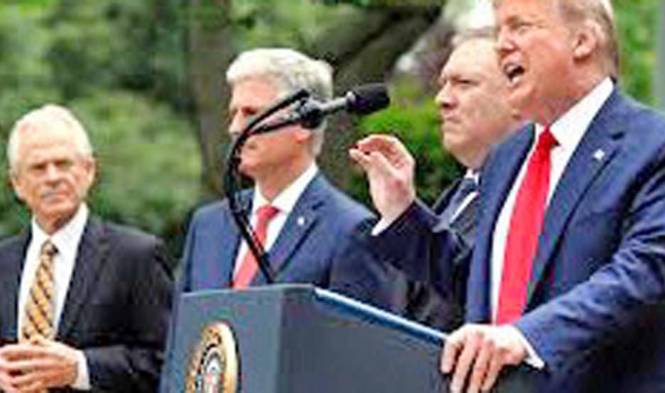 Unión Europea pide a Trump que revea el quiebre con la OMS