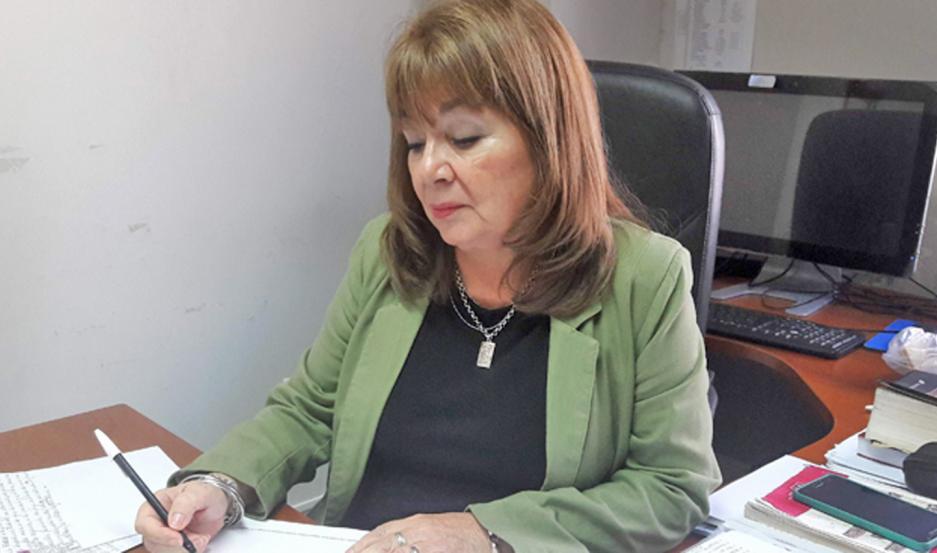 FISCAL. La causa está en manos de la Dra. Marta Elena Ovejero, coordinadora de la Unidad de Violencia de Género e Intrafamiliar.