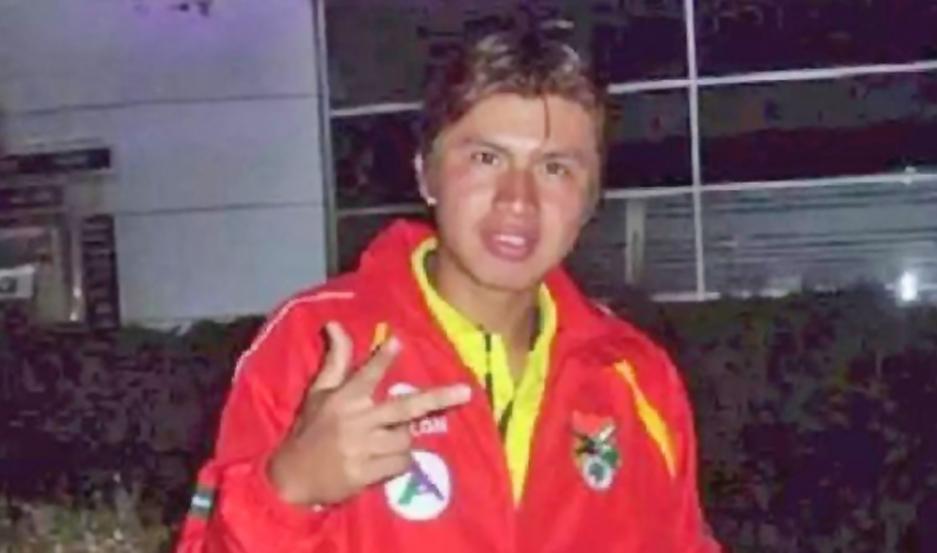 DOLOR. Guzmán jugó en las juveniles de la selección de Bolivia y estuvo cerca de fichar en Nacional Potosí.