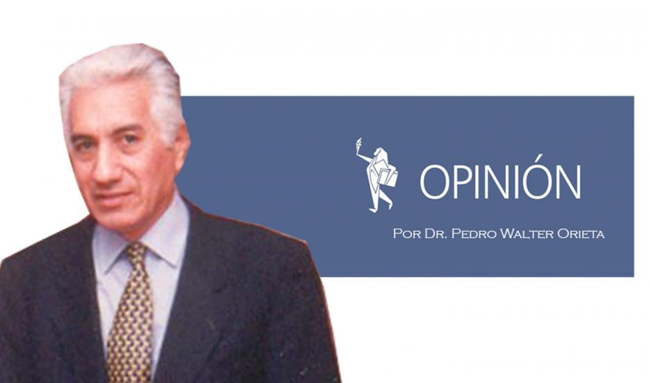 Por el Dr. Pedro Walter Orieta