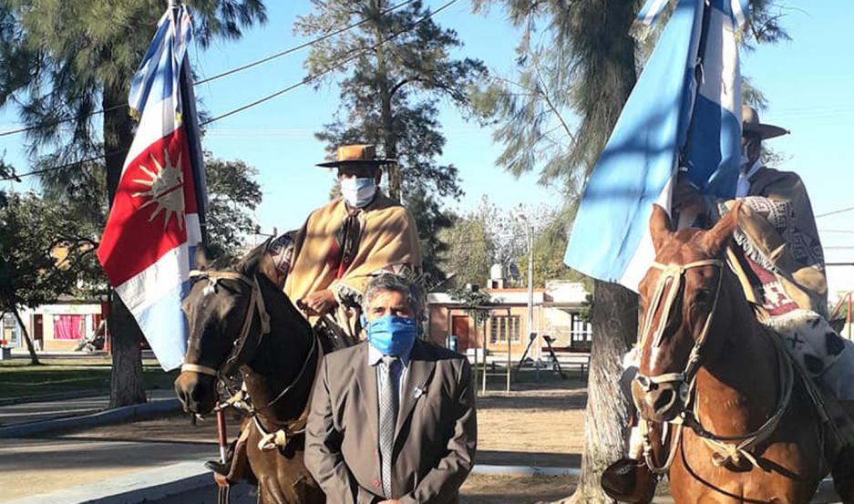 Hugo Guerrero, intendente de Nueva Esperanza, anunció las medidas.
