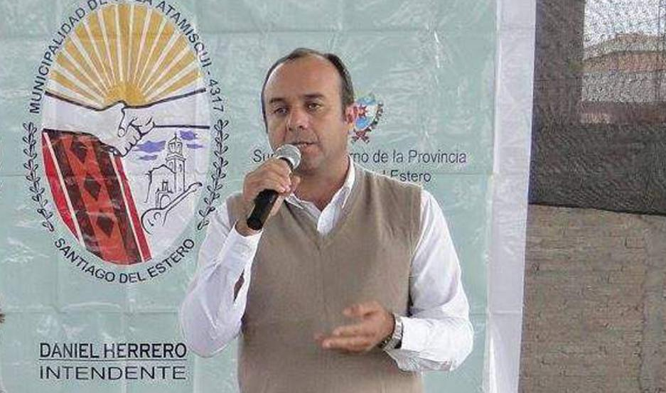 Daniel Herrero, intendente de Villa Atamisqui.