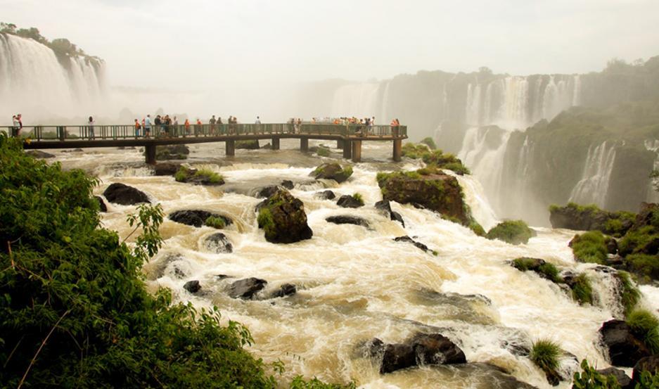 Cataratas del Iguazú, acceso Brasil.
