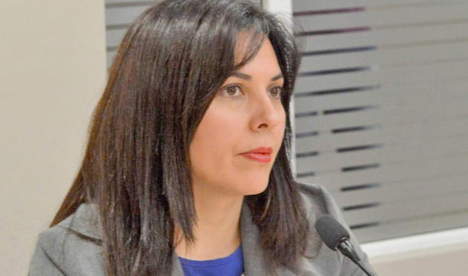 FISCAL. La Dra. Andrea Juárez tomó intervención en el caso y ordenó la aprehensión del acusado.