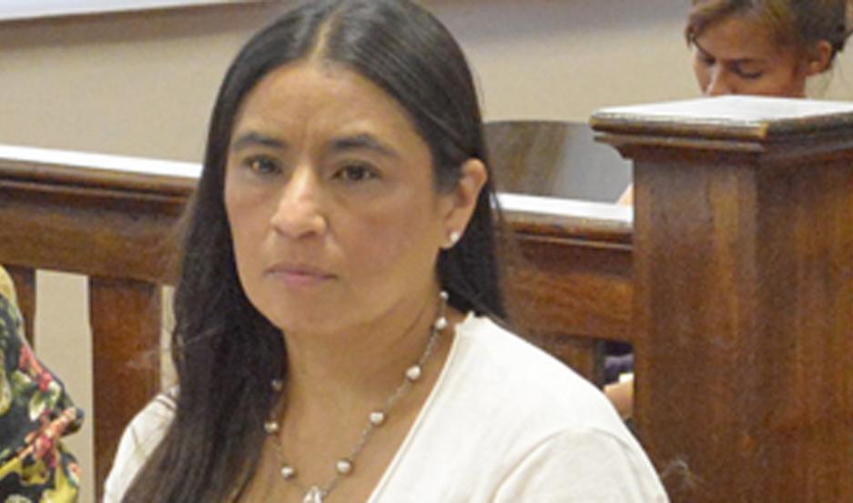 ABOGADA. Claudia Paz.