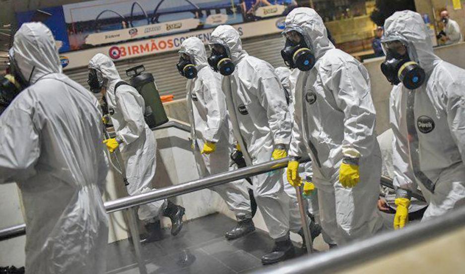 ESTADÍSTICA. Brasil es el segundo país en número de infecciones y muertes en el mundo después de EE.UU.