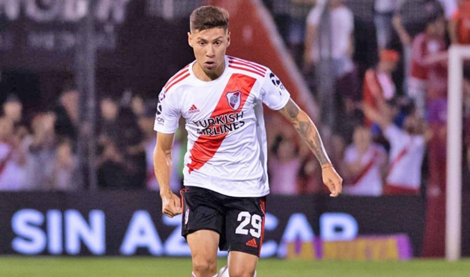 INTERÉS. Marcelo Carracedo, representante de Montiel, confirmó que lo quieren al jugador para el primer equipo.