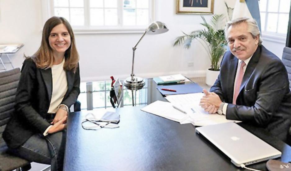 SIN BONO. Tanto Alberto Fernández como Fernanda Raverta señalaron que el tercer pago solo será para el Amba y el Chaco, que volvieron a Fase 1.