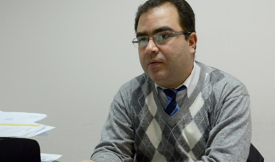 MEDIDAS. El Dr. Alvaro Yagüe, fiscal de turno, le imputó dos delitos al acusado.