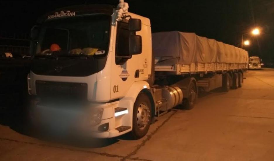 La adolescente viajaba como acompañante de un camionero, que fue interceptado en la Ruta 34.
