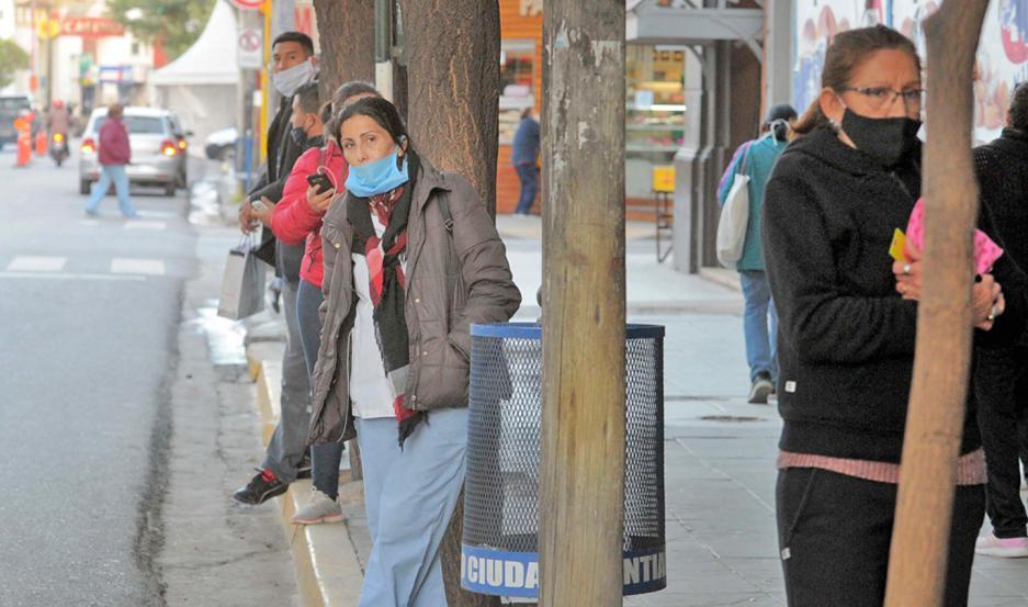 Trabajadores que debían retornar a sus hogares desde el centro quedaron sin el servicio.