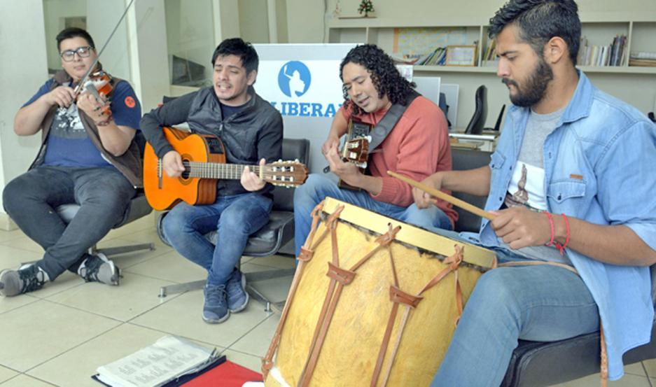 Hoy se presentará el grupo Mósoj Ñaupa.