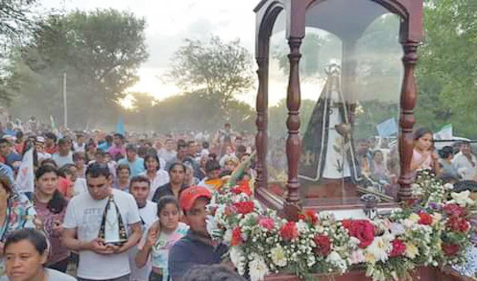 Este año se cumple el bicentenario de la presencia de la Virgen en Huachana.