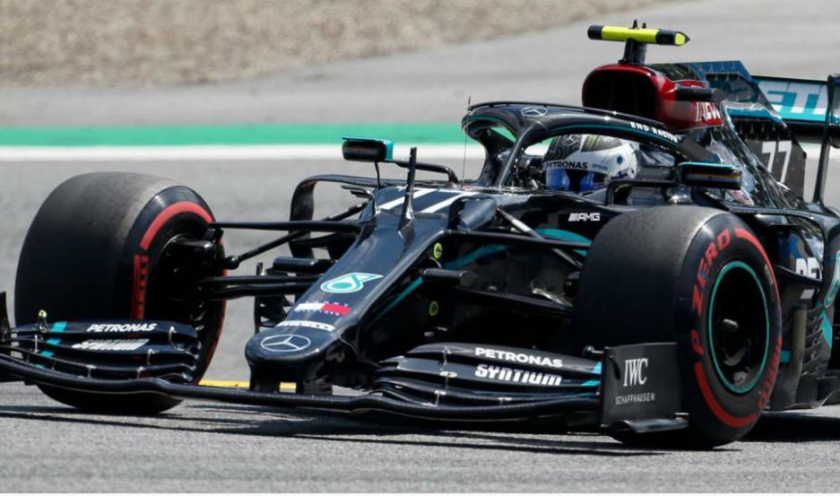 Valtteri Bottas se quedó con la pole position