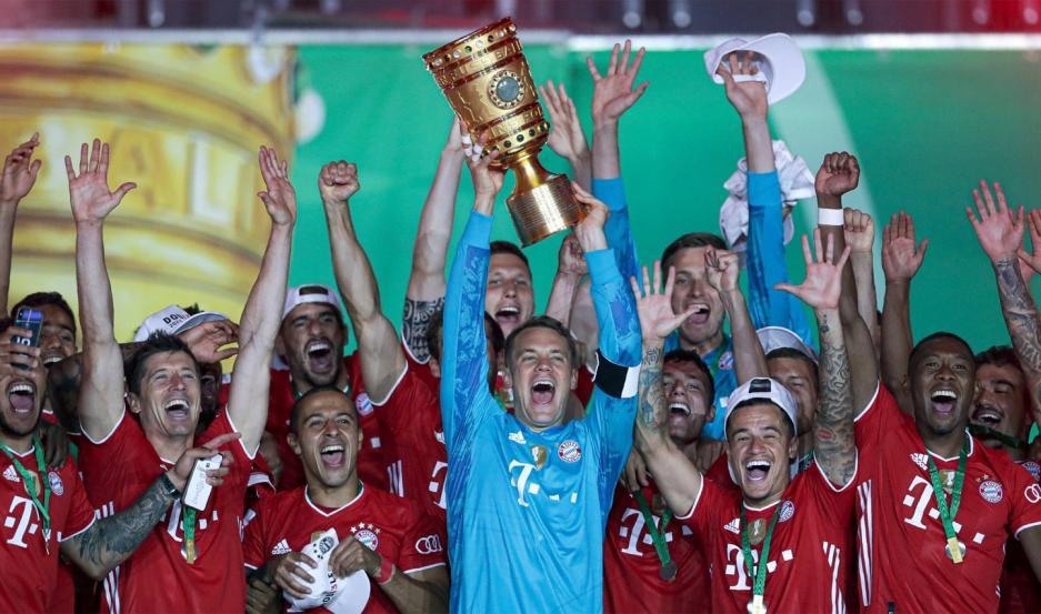 El Bayern Múnich se consagró bicampeón de la Copa de Alemania