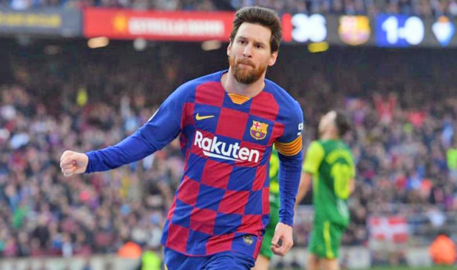 EN LA MIRA. Lionel Messi vuelve a la acción entre los rumores de que en el 2021 se irá de Barcelona.