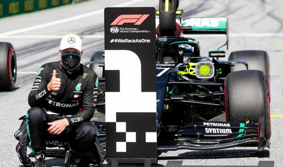 Valtteri Bottas ganó el GP de Austria