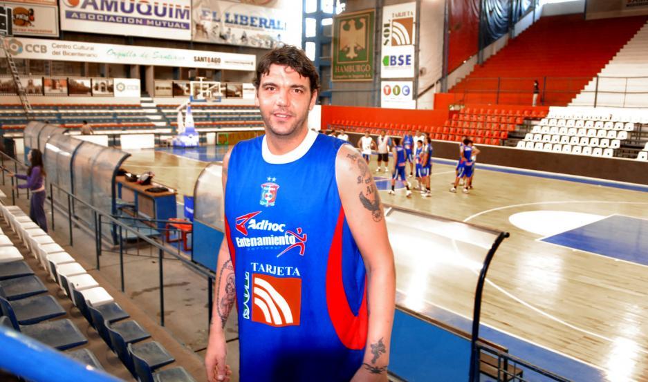 González, que se retiró en el 2017, fue campeón sudamericano con la camiseta de Quimsa.