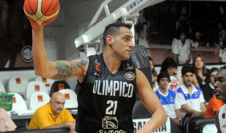 Tintorelli jugará para Olivol Mundial, tras desempeñarse en gran nivel en Olímpico tanto en Liga Nacional como en Sudamericana.