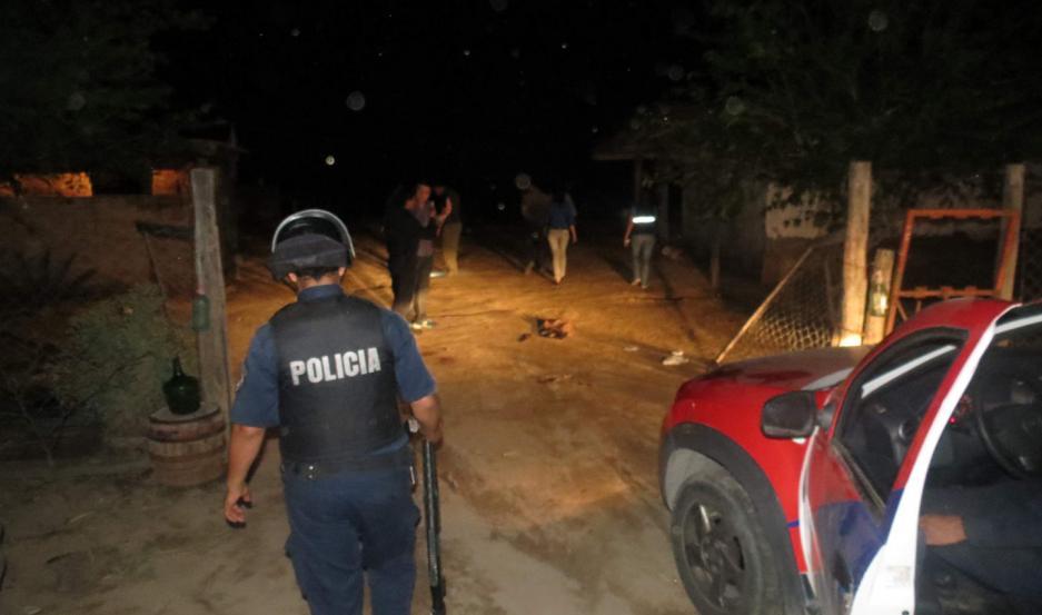 La Policía trabajaba anoche para encontrar a los prófugos.