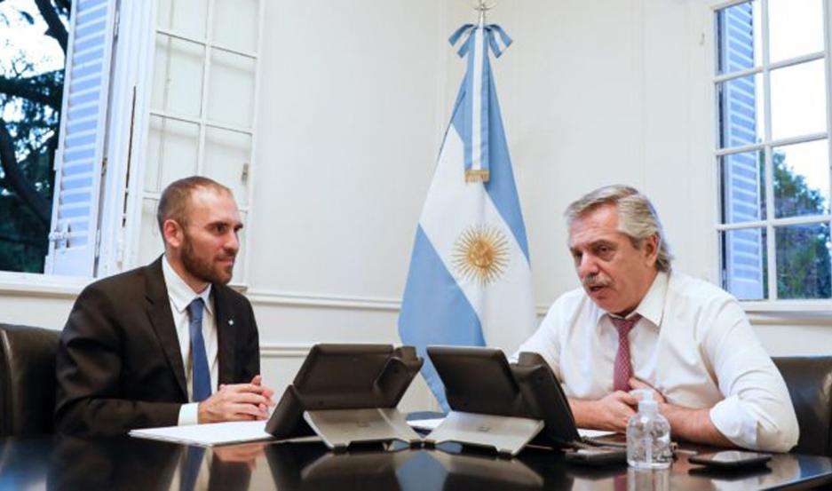 Alberto Fernández y Martín Guzmán a cargo de la renegociación de la deuda.