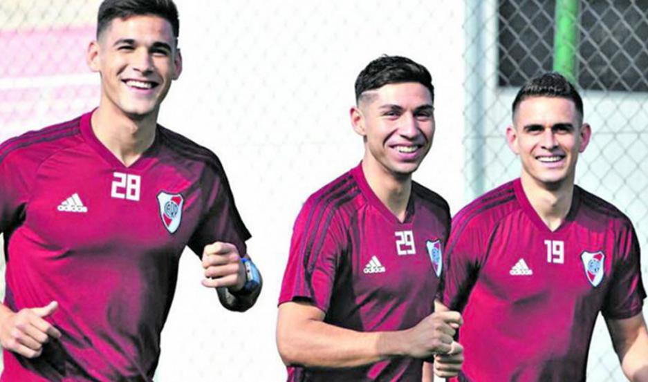 Martínez Quarta, Gonzalo Montiel y Rafael Santos Borré están en la mira de clubes de Europa y River los quiere retener.