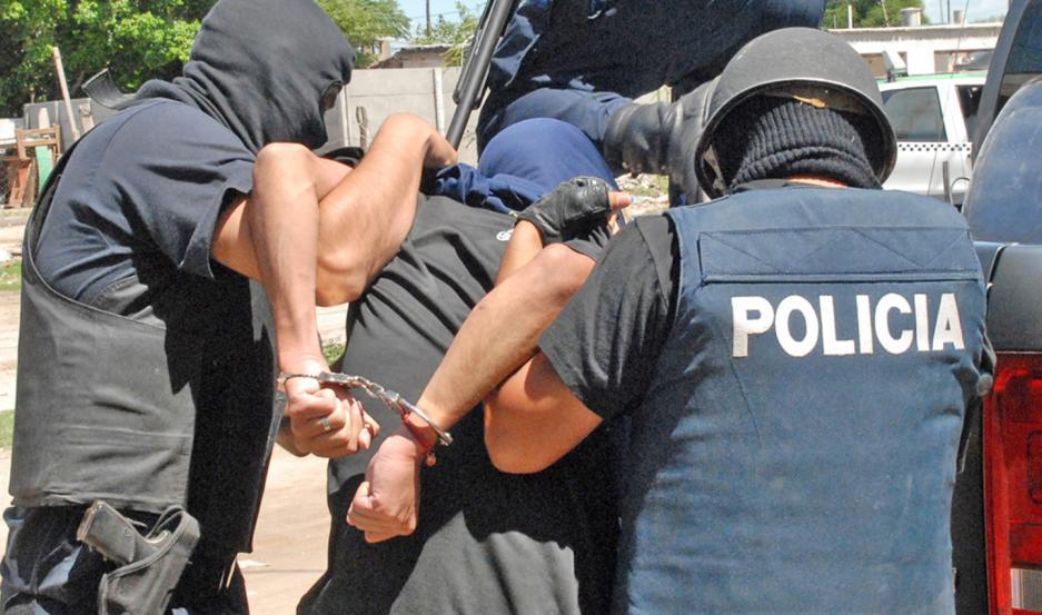 Romero y Ruíz fueron apresados en un control preventivo, ante la pandemía mundial.