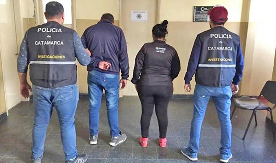 La pareja fue detenida en junio de 2019, en la provincia de Catamarca.