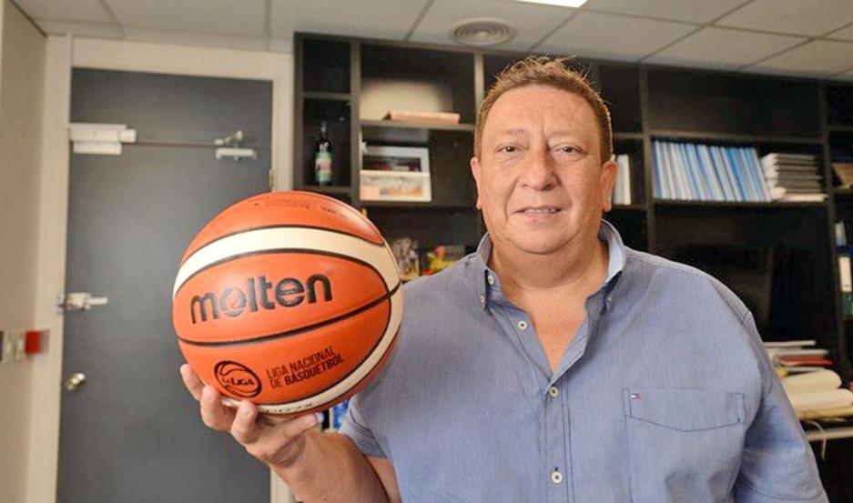 Borro está enfocado en que el básquet se juegue en todo el país, a partir de las escuelas de iniciación deportiva.