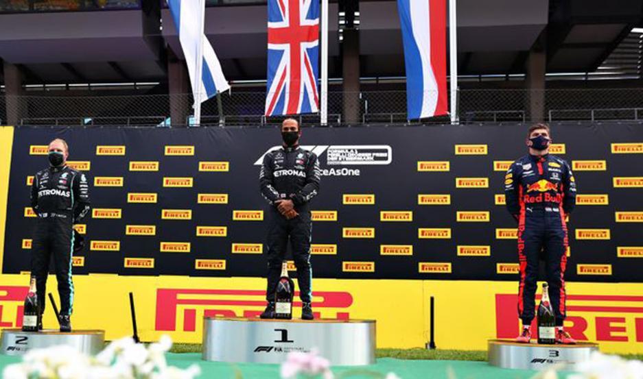 Hamilton se llevo la victoria en el GP de Austria