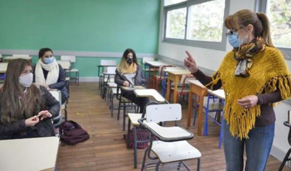 """El regreso a las aulas """"va a estar dado por las condiciones sanitarias y epidemiológicas""""."""