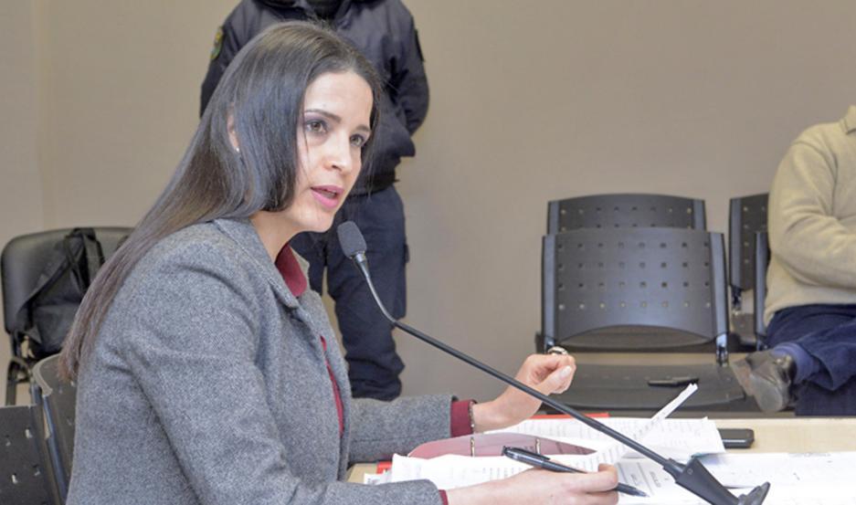 FISCAL. Interviene en el caso la Dra. Andrea Juárez.