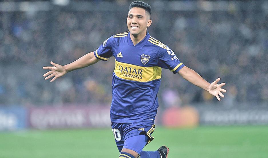 PRESENTE. Emanuel Reynoso tuvo pocas participaciones en Boca desde la llegada de Miguel Ángel Russo y su destino sería Estados Unidos.