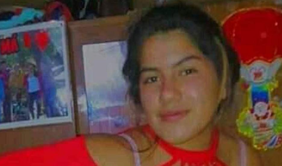 Rocío tenia apenas 14 años.