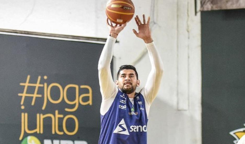 DESAFÍO. Tras dos temporadas en Brasil, Enzo Ruiz jugará la Liga Nacional de Baloncesto Profesional de México.