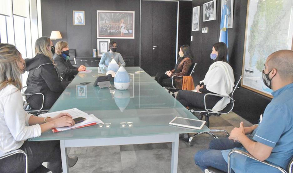 Se abordaron también las cuestiones pedagógicas que se trabajan con equipos nacionales.