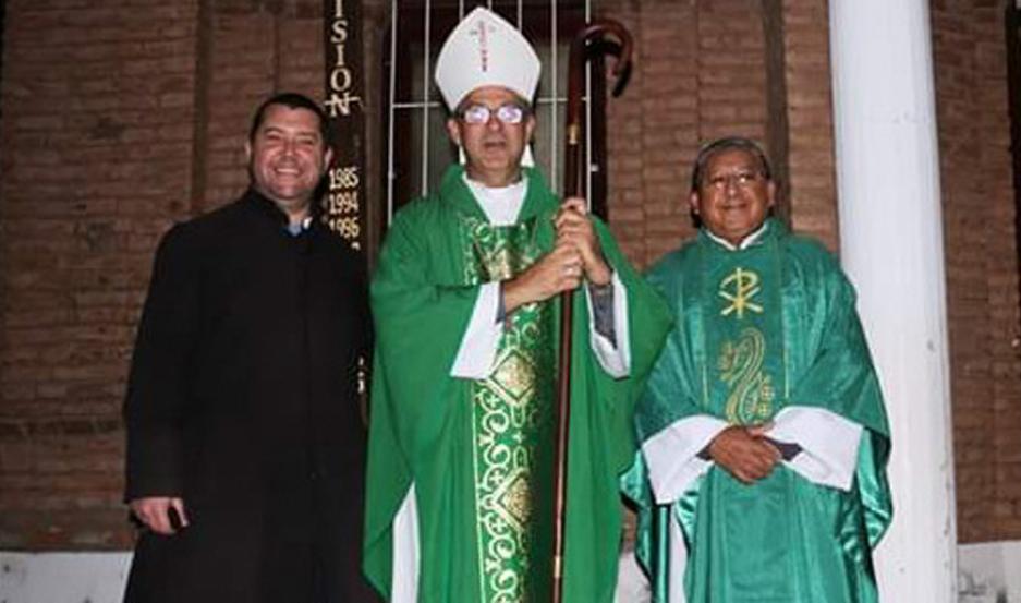 OFICIAL. El padre José Guerra fue puesto en funciones por el obispo de Añatuya en la ciudad de Suncho Corral.
