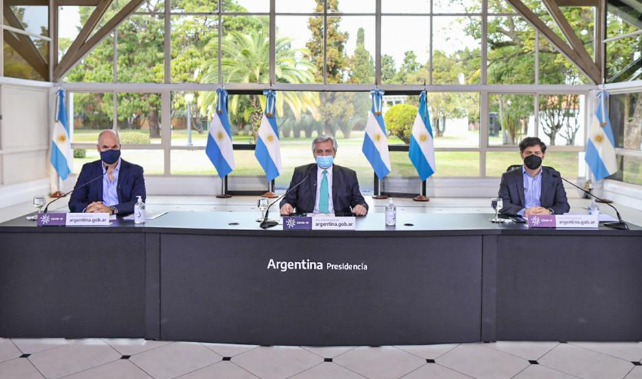 El Presidente anunció la continuidad de las condiciones de aislamiento social para el Amba hasta el 16 de agosto