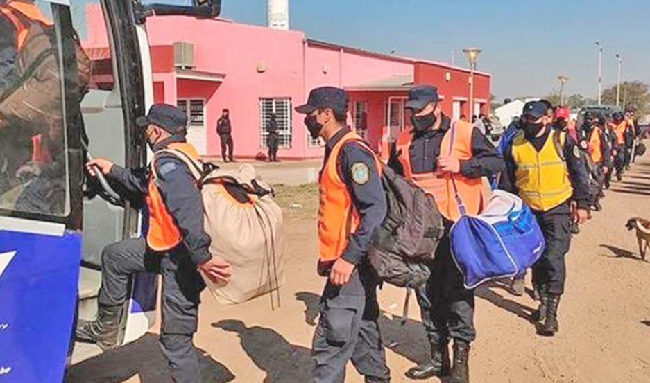 Los efectivos desplazados volverán tras 11 días de control.
