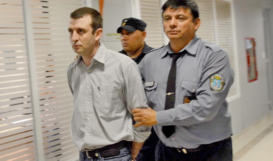 """Carrasco fue detenido el 19 de diciembre de 2017, tras dos pericias clave en que colaboró el perro """"Alcón""""."""