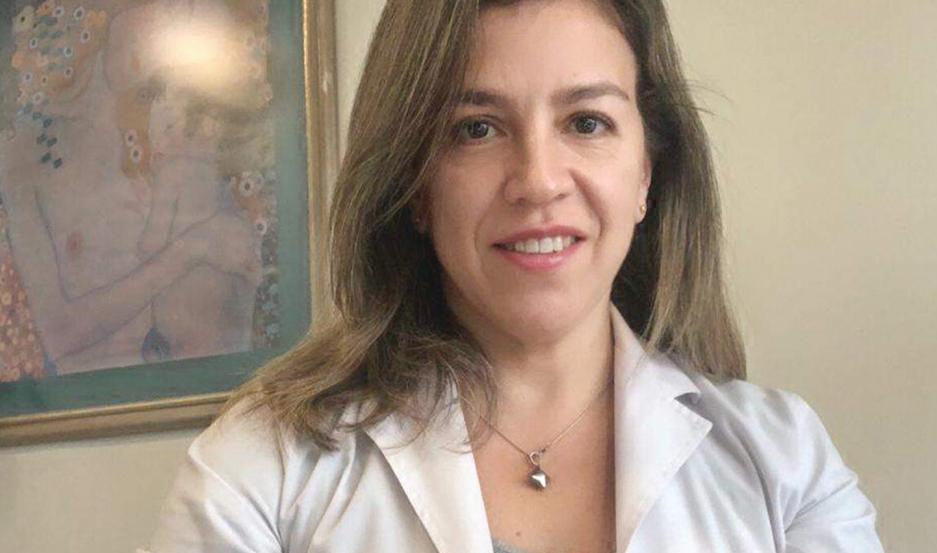 La Dra. Roldán Suárez reflejó las consecuencias de la falta de actividad física en los niños.