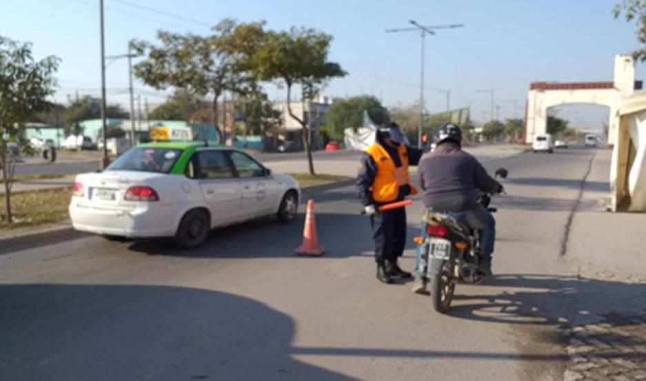 Intensificaron las medidas preventivas en los distintos puntos de la ciudad Capital, de La Banda y el interior.