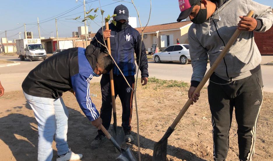 Cuidar el medioambiente involucra a todos los vecinos.