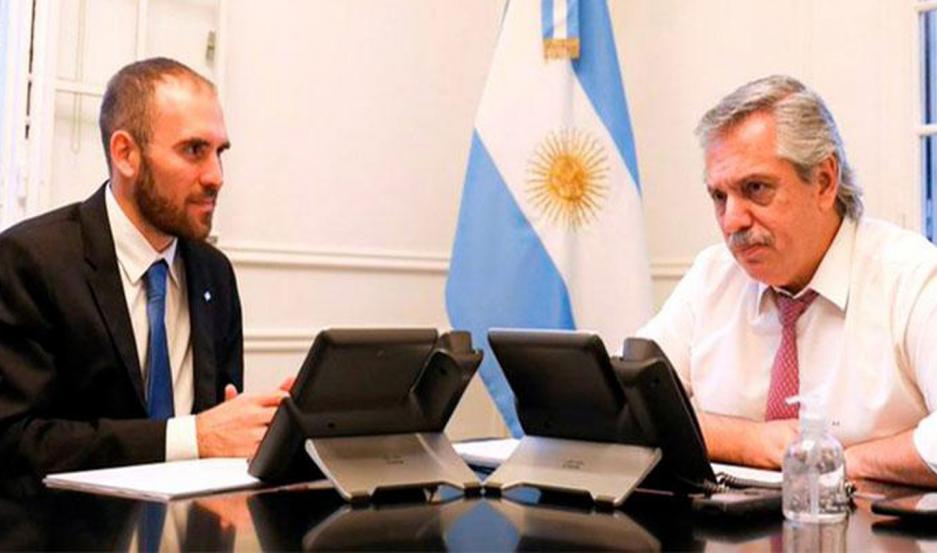 """Fernández rescató que """"para Argentina significan 37.700 millones de dólares menos"""" a pagar 'en los próximos 10 años'. Elogió a Guzmán."""