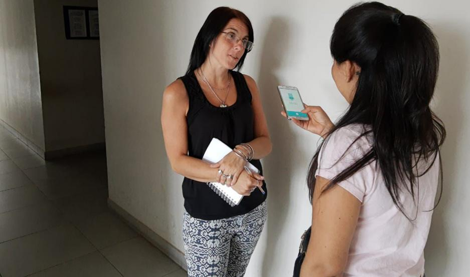La Dra. Pilar Gallo decidió intervenir de oficio y dio parte a la Subnaf, además de ordenar el cese de todo acto de violencia a los acusados.