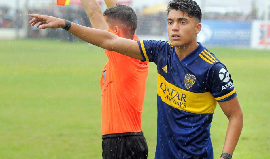 Zeballos, que el año pasado jugaba en Sexta, fue promovido a Reserva este año y ahora buscará un lugar en la Primera de Boca.