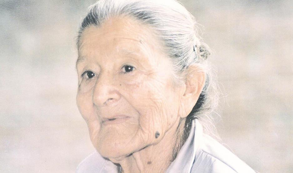 María Luisa Paz de Carabajal, la abuela más famosa del folclore argentino.