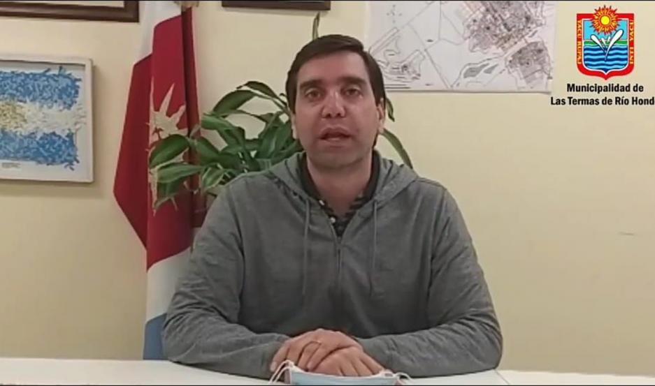"""El intendente Mukdise resaltó: """"El miedo que reina nos debe ayudar a quedarnos en casa y cuidarnos""""."""